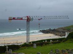 Seaside crane