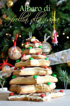 Il castello di Patti Patti: Alberello di frollini alla panna - Creamy shortbread tree