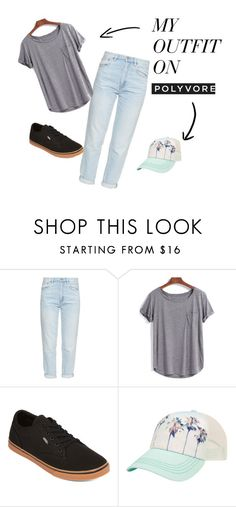 """""""miami"""" by dianasolomon on Polyvore featuring M.i.h Jeans, Vans and Billabong"""