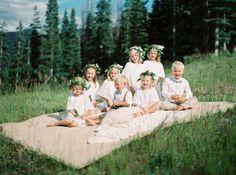 Sweet flower girls & ring bearers