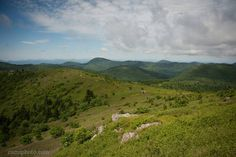 """Asheville Photography (@ashevillephotography) on Instagram: """"View of the Art Loeb Trail winding over Black Balsam Knob taken from the Tennent Mountain summit…"""""""