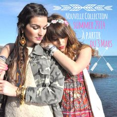 Lookbook les filles du sud collection summer 2014 #boho #bobo# rock Summer 2014, Rock, Hair Styles, Beauty, Southern Girls, Baby Newborn, Hair Plait Styles, Skirt, Hairdos