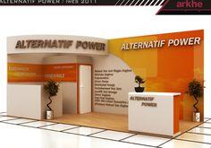 Alternatif Power Exclusive Exhibition Stand Design @ Fair İstanbul Turkey | Arkhe Mimarlık  http://www.fairistanbulturkey.com/project.aspx?projeId=6
