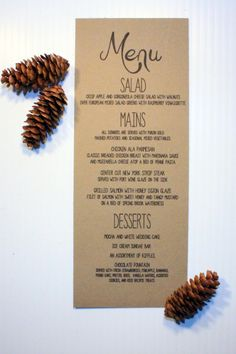 Menu printed on this type & color paper might be cute tucked into the napkin.  Maybe the bridge in a coral color!