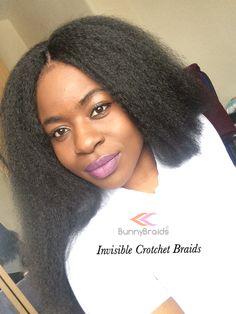 Invisible Crotchet Braids Curly Crotchet Braids, Wand Curl Crochet Hair, Crochet Braid Styles, Braids Wig, Extensions Ombre, Crochet Hair Extensions, Braid In Hair Extensions, Dread Hairstyles, Crochet Braids Hairstyles