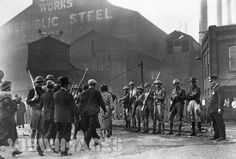 homestead steel mill strike