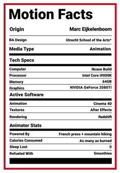 Motionographer Project Breakdown with Marc Eijkelenboom