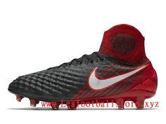 promo code a30b4 3e087 Nike Magista Obra II FG Chaussure de football à crampons pour terrain sec  Pour Homme Rouge