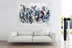 Öl Gemälde 'Order of Chaos' 180x120cm