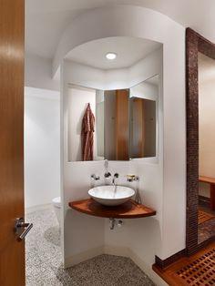 Amusing red and black bathroom ideas