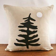 Muskoka Pine - Linen Cushion Cover
