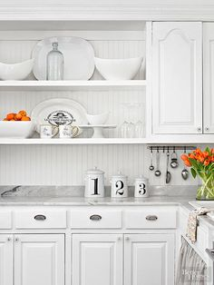 Make this most of your small kitchen by adding in custom touches that can add style, storage and space to your small cooking area. Explore custom shelving, cabinets, appliances and countertops.