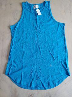 bb667daf03108c On The Byas Pacsun Mens Medium Tank Top solid blue  fashion  clothing  shoes