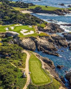 Of Golf Digest's list of America's 100 Greatest Golf courses, the top 25 greens include premiere clubs from New Jersey to California. Bandon Dunes Golf, Los Angeles Country, Kiawah Island Golf, Pebble Beach California, Augusta National Golf Club, Famous Golf Courses, Golf Holidays, Chipping Tips, Golf Chipping