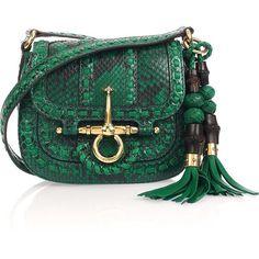 Gucci Python shoulder bag, found on.
