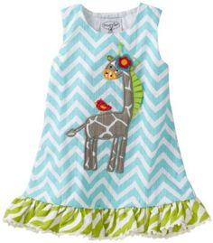 chevron giraffe dress