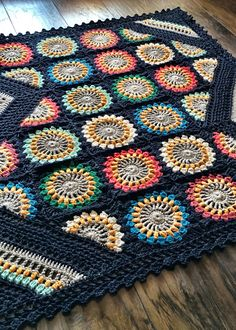 NEW PATTERN! Available on ETSY || CRAFTSY || RAVELRY || LOVEKNITTING Finished Blanket is 40x40in – yarn details are in the intro to the pattern – Yarn brand is Shiny Happy Cotton by woo…