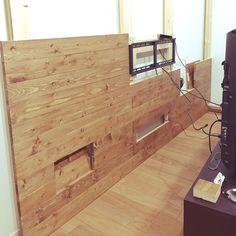 Lounge/DIY/壁掛けテレビDIYのインテリア実例 - 2016-12-14 01:23:29 | RoomClip (ルームクリップ)
