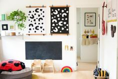 A Golden Modern Playhouse in Sacramento, on Design*Sponge Modern Playhouse, Golden Life, Kid Spaces, Play Houses, Sacramento, Surface Design, Living Area, House Tours, Kids Bedroom