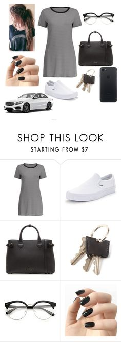 """""""Untitled #207"""" by reka15 on Polyvore featuring Vans, Burberry and Incoco"""