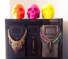 Neon & skulls, anyone? www.thecoveteur.com/jodie_snyder @Dannijo Dantzler