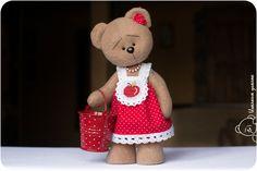 Grusha the SpringTeddy Bear Igolkin Area / The Needle Nook: Bears / Teddy bears