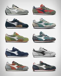 warfashion - thestylebuff:   Diadora Heritage Equipe