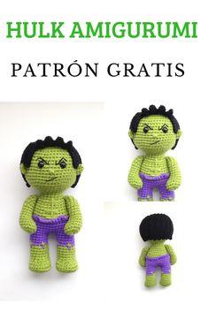 Animal Knitting Patterns, Crochet Dolls Free Patterns, Amigurumi Patterns, Crochet Toys, Crochet Baby, Free Crochet, Crochet Doll Tutorial, Crochet Panda, Crochet Disney