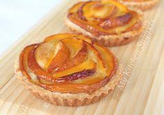: Peach-Frangipane Tarts