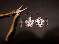 DIY Easy Vintage Lace Earrings
