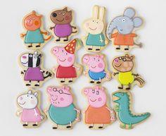Peppa & George Pig Birthday Party via Kara's Party Ideas | KarasPartyIdeas.com #peppapigparty (7)