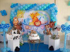dicas para fazer festa infantil com o tema arca de noé