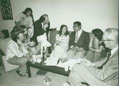 Beat Generation Meeting at Allen Ginsberg's