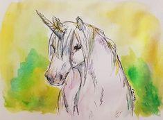 Scribble, Unicorn, Moose Art, Twitter, Painting, Animals, Animales, Animaux, Painting Art