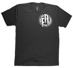 Super soft poly blend tee with ink on front and back!