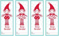 Imprimible: Etiquetas para los regalos