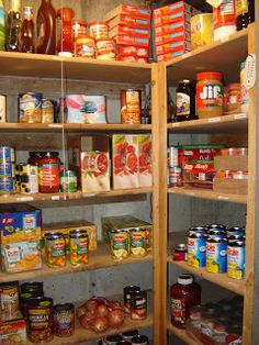 Mormon Food Storage Fascinating Prepared Lds Family Pictures Of Food Storage Shelves Pantries And Inspiration