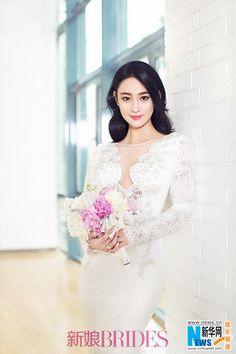 Tình địch của Phạm Băng Băng tung ảnh làm cô dâu - VnMedia