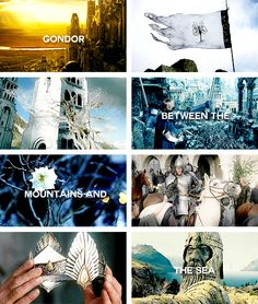 lotr meme: 3/3 places → gondor