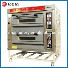 Check out this product on Alibaba.com App Commercial Pizza oven bread making machine baking equipment gas electric 2 deck oven for bakery Electric baking oven