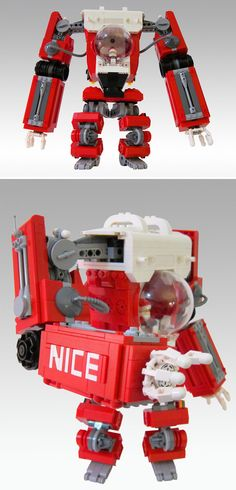 The ULTIMATE LEGO Santa Claus