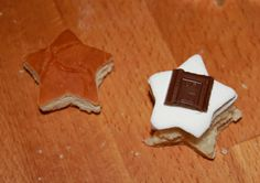Yummy S'More Star Bites (Recipe)! — The Queen of Swag!