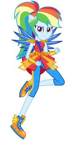 [Legend of Everfree] Rainbow Dash by MixiePie.deviantart.com on @DeviantArt