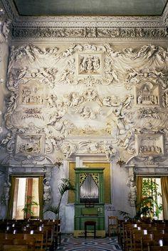 Palermo, oratorio di Santa Cita, stucchi di Serpotta by cercamon,