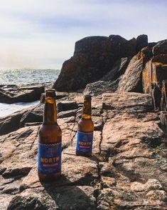 """@tornionpanimo on Instagram: """"Kevät on jo pitkällä etelässä. North Arctic Lager nähty Suomenlinnassa. Kiitos kuvasta @hamarialainen !  #tornionpanimo…"""" Craft Beer Brands, Most Beautiful, Beautiful Places, Brewery, Beer Bottle, Saga, Traveling, Journey, History"""