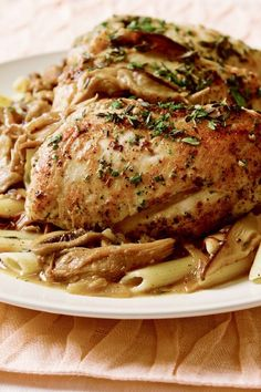 Pressure+Cooker+Chicken+Marsala+-+Read+More+at+Relish.com
