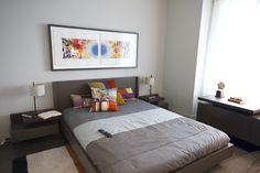 Evolo  - chambre à coucher - ameublemet Roche Bobois Condominium, Bed, Furniture, Home Decor, Bedroom, Decoration Home, Stream Bed, Room Decor, Home Furnishings