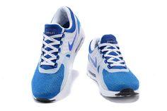 new style bce47 2bb94 Billige Nike Air Max 1 Blå Hvite Joggesko for Herre 429.88kr Air Max 1,