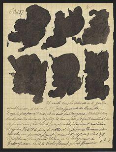 PETIT DOSSIER Nº 10 (LITTLE FOLDER NO. 10 (118-page folder)/ Jeanne Tripier (1869-1944), Maison Blanche Psychiatric Hospital, Neuilly-sur-Marne, France, c. 1935–1939, ink, varnish, and sugar on paper, page size between 8 5/8 x 6 ¾ in. and 13 5/8 x 8 5/8 in. Collection de l'Art Brut, Lausanne, Switzerland, cab-A637-1-118. Photo credits: © Collection de l'Art Brut, Lausanne. Photo byJean-Marie Almonte and ichael Legentil, Atelier de numérisation—Ville de Lausanne