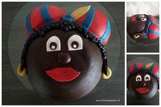 zwarte pieten taart #taart #sinterklaas #cake.